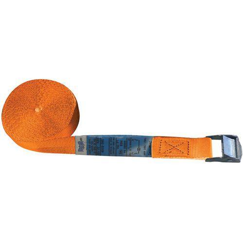 Sjorbanden met gespen - maximale werkspanning 125 kg
