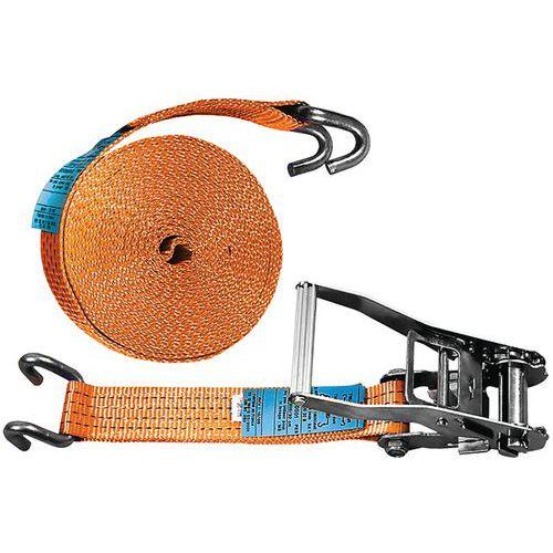 Sjorband 2 delen met spanratel - maximale werkspanning 2000 kg