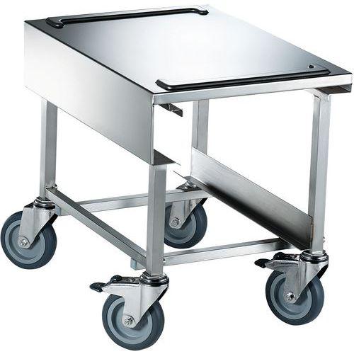 Uitgiftewagen voor Voedseltransportbox verzinkt staal wielen ROLA 13