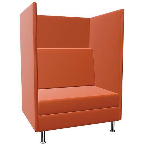Stoel Coworking 1 zitplaats - H136 cm - Atelier