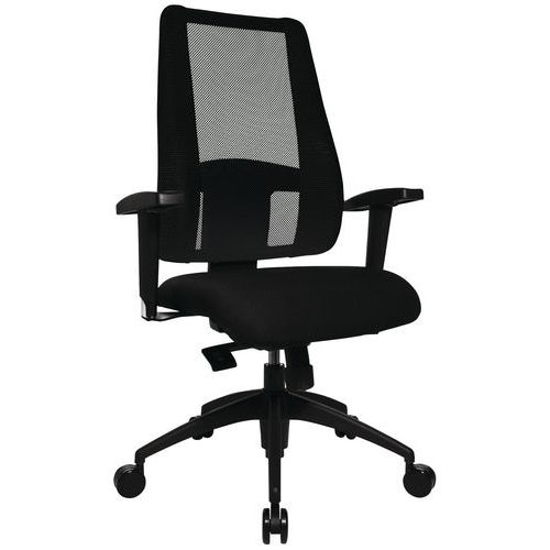 Bureaustoel - Lady Sitness Deluxe - Zwart onderstel