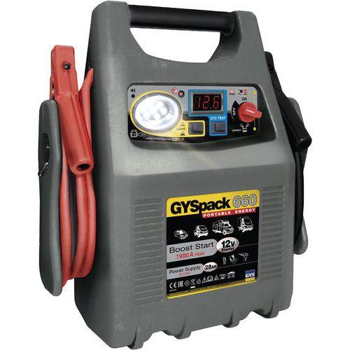 Autonome startmotor - Gyspack 660 - Gys