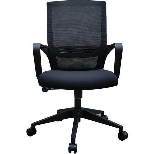 Bureaustoel zwart Elane