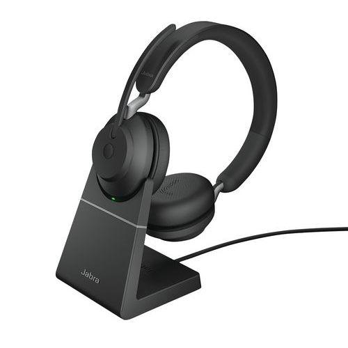 Headset met snoer Evolve2 65 UC Duo USB-A Link 380a - Jabra