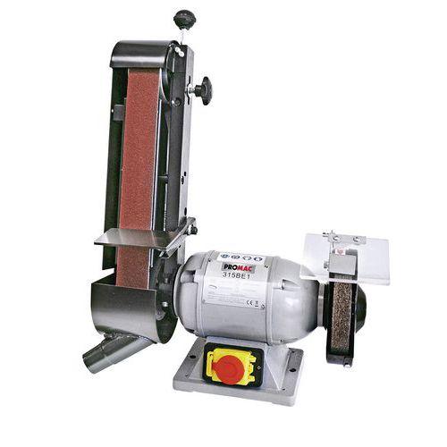Slijpmachine schijf/band PROMAC 315 BE 1 - Schijf Ø 150 mm - 250 W