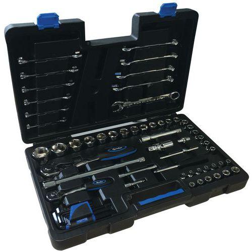 Koffer met 62 gereedschappen - Manutan